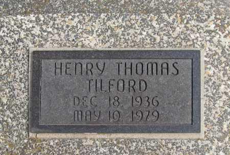 TILFORD, HENRY THOMAS - Benton County, Arkansas | HENRY THOMAS TILFORD - Arkansas Gravestone Photos