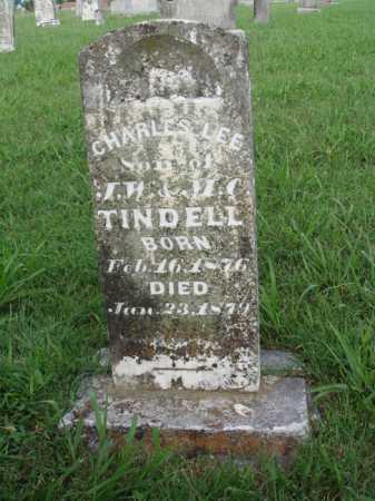 TINDELL, CHARLES LEE - Benton County, Arkansas | CHARLES LEE TINDELL - Arkansas Gravestone Photos
