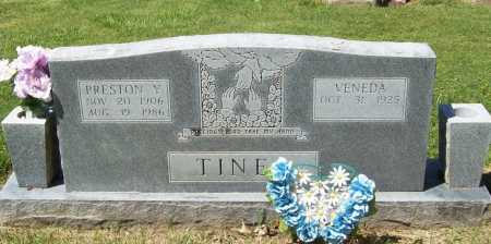 TINER, PRESTON Y. - Benton County, Arkansas | PRESTON Y. TINER - Arkansas Gravestone Photos