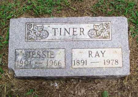TINER, RAY - Benton County, Arkansas | RAY TINER - Arkansas Gravestone Photos