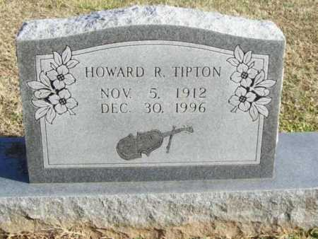 TIPTON, HOWARD R. - Benton County, Arkansas | HOWARD R. TIPTON - Arkansas Gravestone Photos