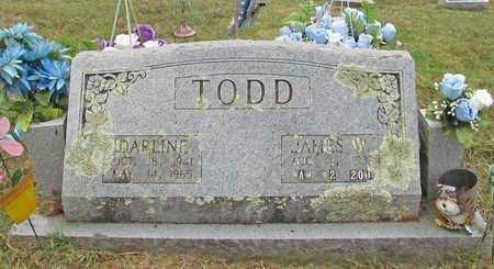 TODD, DARLINE - Benton County, Arkansas | DARLINE TODD - Arkansas Gravestone Photos