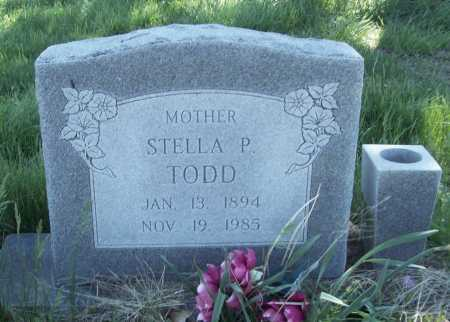 TODD, STELLA P. - Benton County, Arkansas | STELLA P. TODD - Arkansas Gravestone Photos