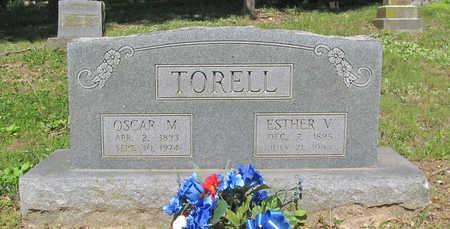TORELL, OSCAR MELVIN - Benton County, Arkansas   OSCAR MELVIN TORELL - Arkansas Gravestone Photos
