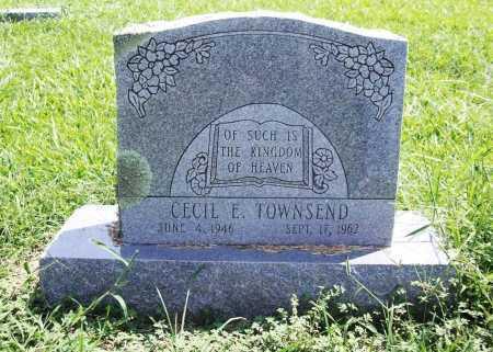 TOWNSEND, CECIL E. - Benton County, Arkansas | CECIL E. TOWNSEND - Arkansas Gravestone Photos