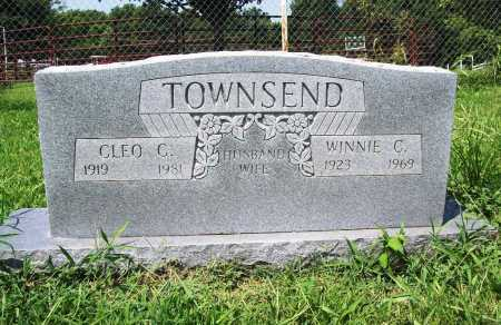 TOWNSEND, CLEO C. - Benton County, Arkansas | CLEO C. TOWNSEND - Arkansas Gravestone Photos