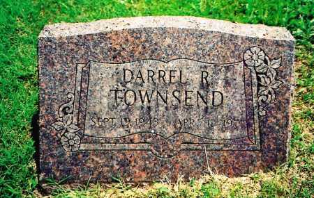 TOWNSEND, DARREL R. - Benton County, Arkansas | DARREL R. TOWNSEND - Arkansas Gravestone Photos
