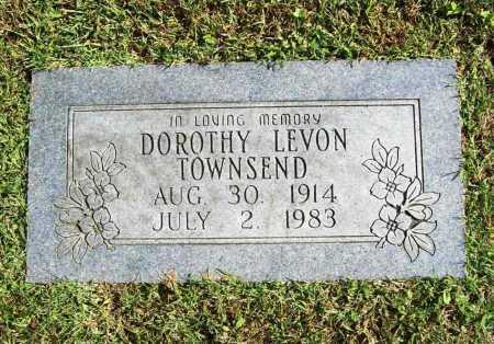 TOWNSEND, DOROTHY LEVON - Benton County, Arkansas   DOROTHY LEVON TOWNSEND - Arkansas Gravestone Photos