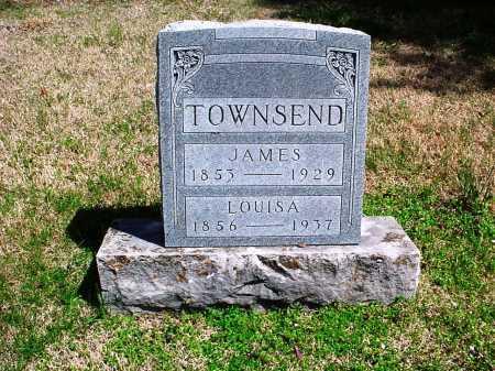 TOWNSEND, JAMES A. - Benton County, Arkansas | JAMES A. TOWNSEND - Arkansas Gravestone Photos