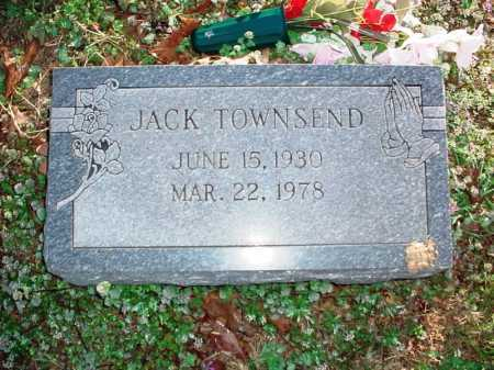 TOWNSEND, JACK - Benton County, Arkansas   JACK TOWNSEND - Arkansas Gravestone Photos