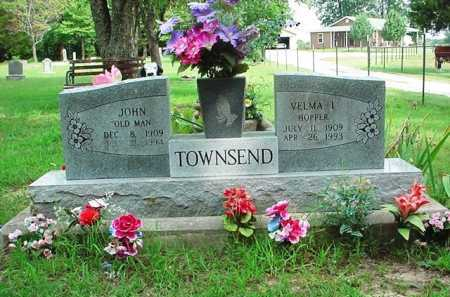 HOPPER TOWNSEND, VELMA I. - Benton County, Arkansas | VELMA I. HOPPER TOWNSEND - Arkansas Gravestone Photos