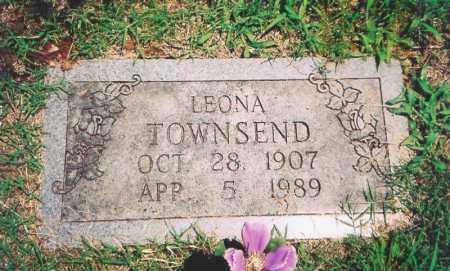 TOWNSEND, LEONA - Benton County, Arkansas | LEONA TOWNSEND - Arkansas Gravestone Photos