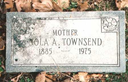 INMAN TOWNSEND, NOLA ADELL - Benton County, Arkansas | NOLA ADELL INMAN TOWNSEND - Arkansas Gravestone Photos