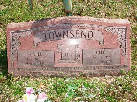 TOWNSEND, OLLIE - Benton County, Arkansas | OLLIE TOWNSEND - Arkansas Gravestone Photos