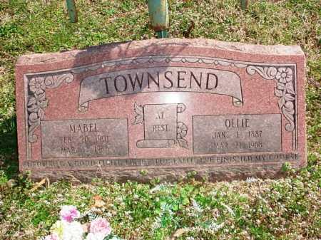 TOWNSEND, MABEL - Benton County, Arkansas | MABEL TOWNSEND - Arkansas Gravestone Photos