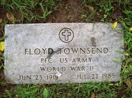 TOWNSEND (VETERAN WWII), FLOYD - Benton County, Arkansas | FLOYD TOWNSEND (VETERAN WWII) - Arkansas Gravestone Photos