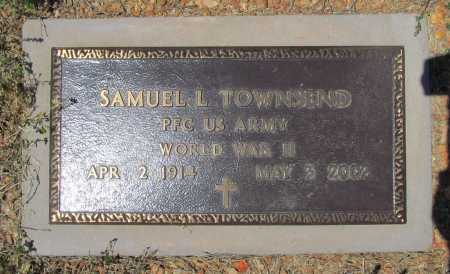 TOWNSEND (VETERAN WWII), SAMUEL L. - Benton County, Arkansas | SAMUEL L. TOWNSEND (VETERAN WWII) - Arkansas Gravestone Photos
