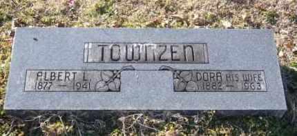 TOWNZEN, DORA - Benton County, Arkansas | DORA TOWNZEN - Arkansas Gravestone Photos