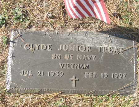 TREAT (VETERAN VIET), CLYDE JUNIOR - Benton County, Arkansas | CLYDE JUNIOR TREAT (VETERAN VIET) - Arkansas Gravestone Photos