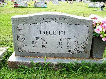 TREUCHEL, HEINZ - Benton County, Arkansas | HEINZ TREUCHEL - Arkansas Gravestone Photos