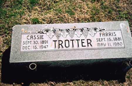 TROTTER, FARRIS, SR. - Benton County, Arkansas | FARRIS, SR. TROTTER - Arkansas Gravestone Photos