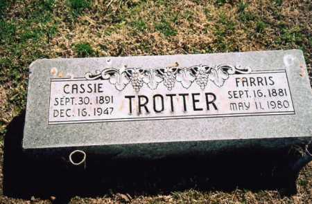 TROTTER, CASSIE - Benton County, Arkansas | CASSIE TROTTER - Arkansas Gravestone Photos