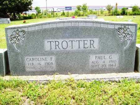 TROTTER, CAROLINE F. - Benton County, Arkansas   CAROLINE F. TROTTER - Arkansas Gravestone Photos