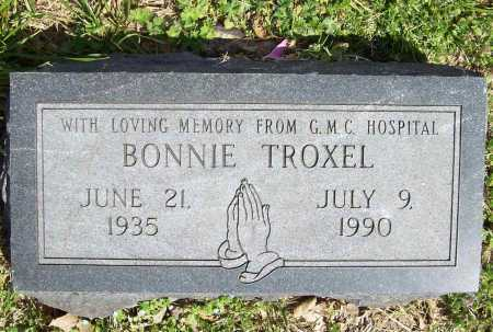 TROXEL, BONNIE - Benton County, Arkansas   BONNIE TROXEL - Arkansas Gravestone Photos