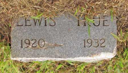 TRUE, LEWIS - Benton County, Arkansas   LEWIS TRUE - Arkansas Gravestone Photos