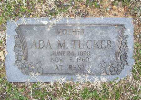 TUCKER, ADA M. - Benton County, Arkansas | ADA M. TUCKER - Arkansas Gravestone Photos