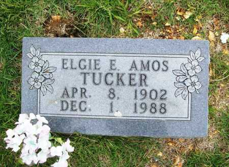 AMOS TUCKER, ELGIE E. - Benton County, Arkansas | ELGIE E. AMOS TUCKER - Arkansas Gravestone Photos