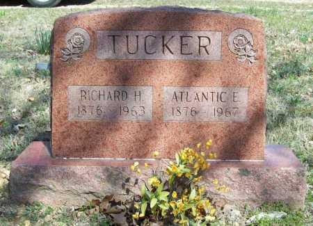 TUCKER, ATLANTIC E. - Benton County, Arkansas | ATLANTIC E. TUCKER - Arkansas Gravestone Photos