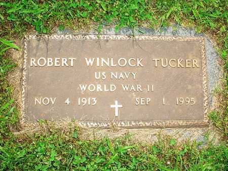 TUCKER (VETERAN WWII), ROBERT WINLOCK - Benton County, Arkansas | ROBERT WINLOCK TUCKER (VETERAN WWII) - Arkansas Gravestone Photos