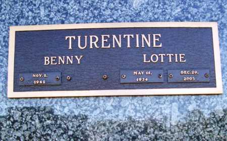 TURENTINE, LOTTIE ROSE - Benton County, Arkansas | LOTTIE ROSE TURENTINE - Arkansas Gravestone Photos