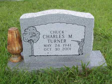 "TURNER, CHARLES M. ""CHUCK"" - Benton County, Arkansas   CHARLES M. ""CHUCK"" TURNER - Arkansas Gravestone Photos"
