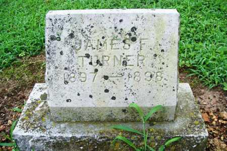 TURNER, JAMES F. - Benton County, Arkansas | JAMES F. TURNER - Arkansas Gravestone Photos