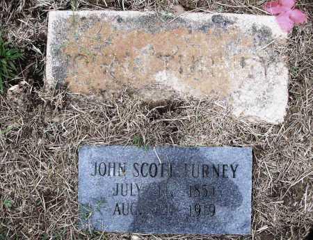 TURNEY, JOHN SCOTT - Benton County, Arkansas | JOHN SCOTT TURNEY - Arkansas Gravestone Photos