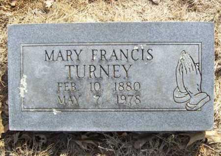 TURNEY, MARY FRANCIS - Benton County, Arkansas | MARY FRANCIS TURNEY - Arkansas Gravestone Photos