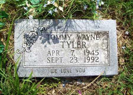 TYLER, TOMMY WAYNE - Benton County, Arkansas   TOMMY WAYNE TYLER - Arkansas Gravestone Photos