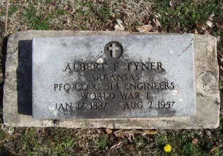 TYNER (VETERAN WWI), ALBERT F - Benton County, Arkansas | ALBERT F TYNER (VETERAN WWI) - Arkansas Gravestone Photos
