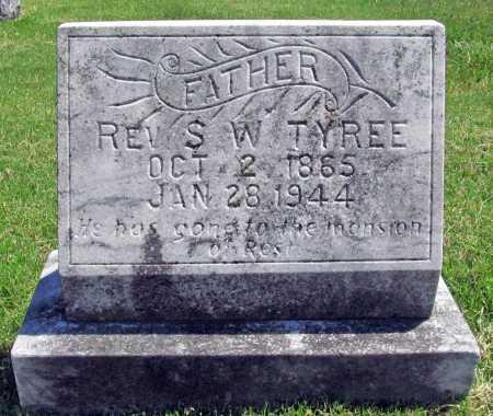 TYREE, REV. S. W. - Benton County, Arkansas | REV. S. W. TYREE - Arkansas Gravestone Photos