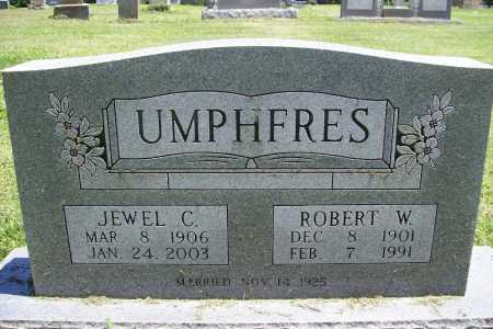 UMPHFRES, ROBERT W. - Benton County, Arkansas   ROBERT W. UMPHFRES - Arkansas Gravestone Photos