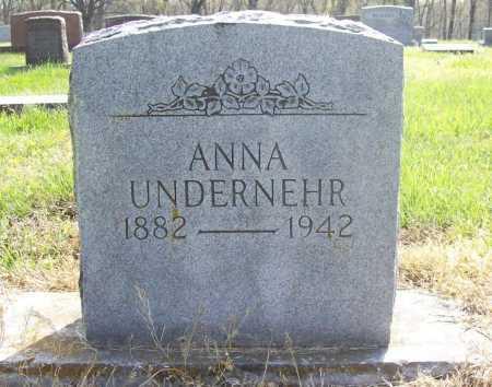 LICHTY UNDERNEHR, ANNA GRACE - Benton County, Arkansas | ANNA GRACE LICHTY UNDERNEHR - Arkansas Gravestone Photos