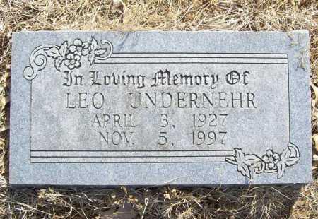 UNDERNEHR, LEO - Benton County, Arkansas | LEO UNDERNEHR - Arkansas Gravestone Photos