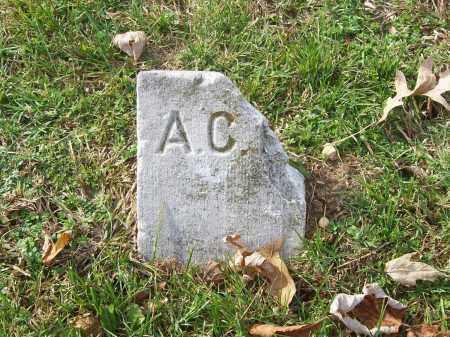 UNKNOWN, A. C. - Benton County, Arkansas   A. C. UNKNOWN - Arkansas Gravestone Photos