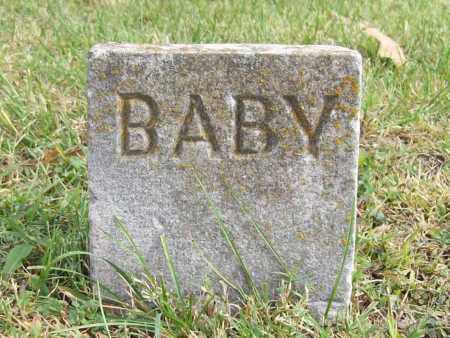 UNKNOWN, BABY - Benton County, Arkansas | BABY UNKNOWN - Arkansas Gravestone Photos