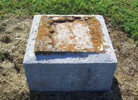 UNKNOWN, MISSING STONE - Benton County, Arkansas | MISSING STONE UNKNOWN - Arkansas Gravestone Photos