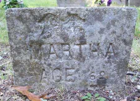 UNKNOWN, MARTHA - Benton County, Arkansas | MARTHA UNKNOWN - Arkansas Gravestone Photos
