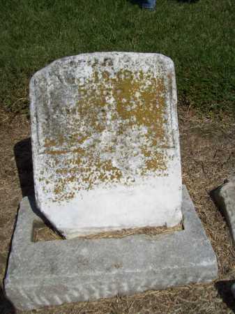 UNKNOWN, SARAH E. (BOTTOM) - Benton County, Arkansas | SARAH E. (BOTTOM) UNKNOWN - Arkansas Gravestone Photos