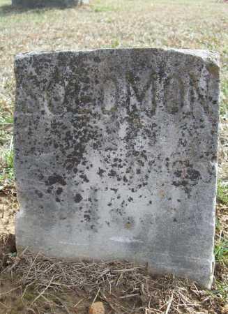UNKNOWN, SOLOMON - Benton County, Arkansas | SOLOMON UNKNOWN - Arkansas Gravestone Photos